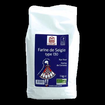 CELNAT FARINE DE SEIGLE T130 KG