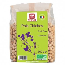 CELNAT POIS CHICHES 500G