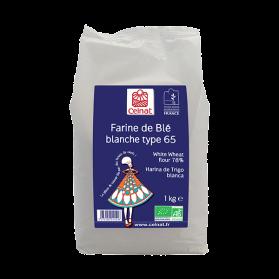 CELNAT FARINE DE BLE T65 1KG