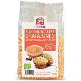 CELNAT FLOCONS DE CHATAIGNES TOASTES 350