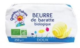 GRANDEUR NATURE BEURRE DE BARATTE DOUX