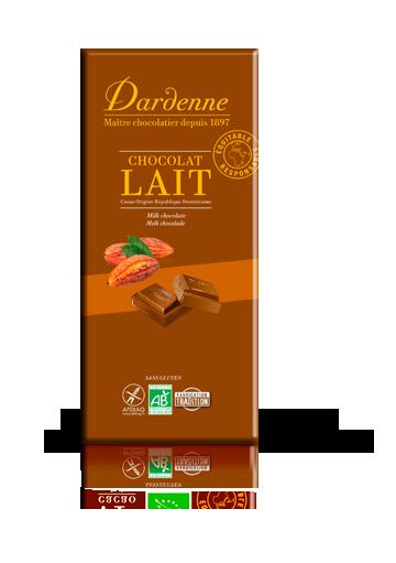 DARDENNE CHOCOLAT AU LAIT 100G