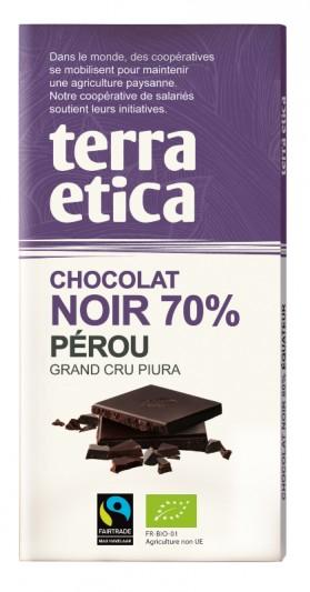 CAFE MICHEL CHOCOLAT NOIR 70% PEROU 100G