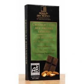 MOULIN DES MOINES CHOCOLAT NOIR AMANDES