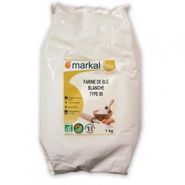 MARKAL FARINE DE BLE T80 1KG