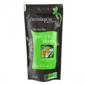 DESTINATION CAFE THE VERT MENTHE MAROCAI