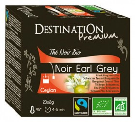 DESTINATION CAFE THE NOIR EARL GREY INFU