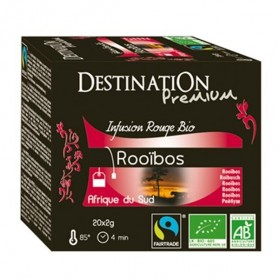 DESTINATION CAFE THE ROUGE ROOIBOS INFUS