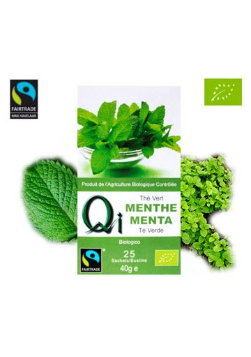 THES QI THE VERT A LA MENTHE 25 INFUSETT