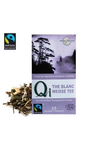 THES QI THE BLANC NATURE 25 INFUSETTES