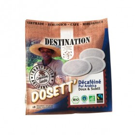 DESTINATION CAFE DOSETT DECAFEINE *18