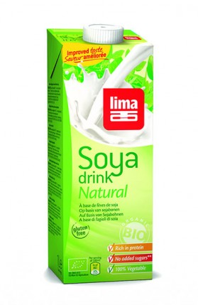 LIMA SOYA DRINK NATURAL LITRE