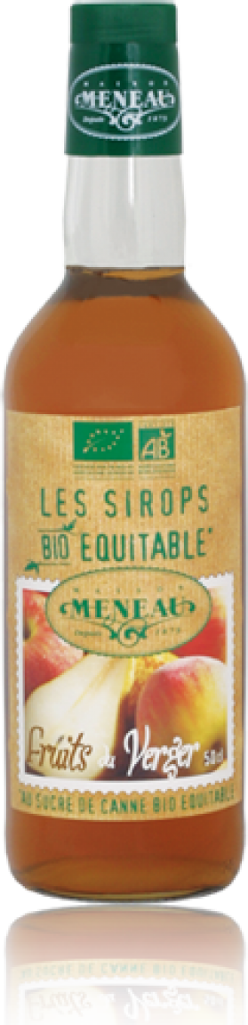 MENEAU SIROP FRUITS DU VERGER 50CL