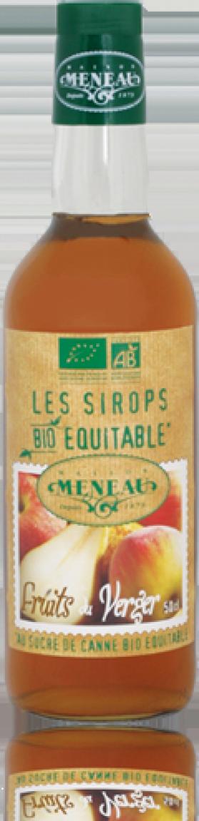 MENEAU SIROP POMME POIRE 50CL