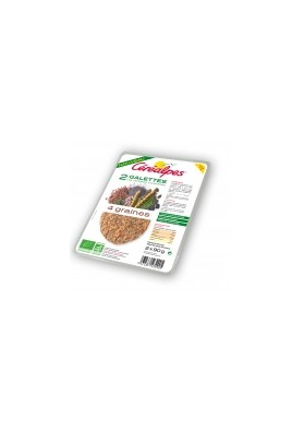 CEREALPES ESCALOPE 4 GRAINES 2*90 G