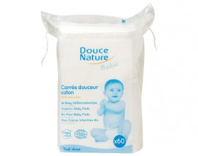 DOUCE NATURE CARRES DOUCEUR COTON BIO *60