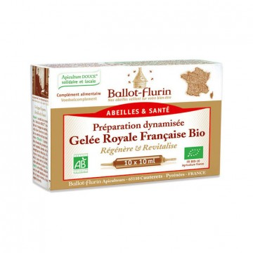 BALLOT FLURIN GELEE ROYALE 10 AMPOULES