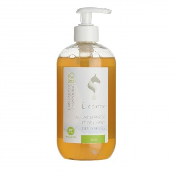 LEANOR BAIN DOUCHE SHAMPOING ALOE 500ML