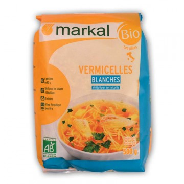 MARKAL VERMICELLES BLANCS 500G NSFP