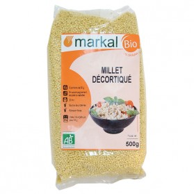 MARKAL MILLET DECORTIQUE 500G