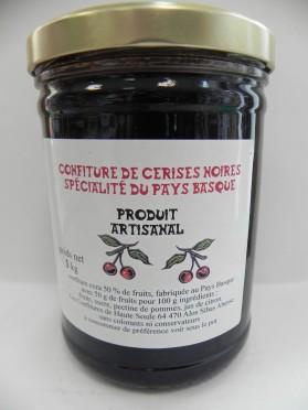 Confiture de cerises noires 1kg