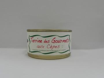 Terrine des gourmets aux cèpes Hoberena 130g
