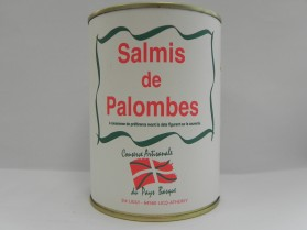 Salmis de palombe Hoberena 400g