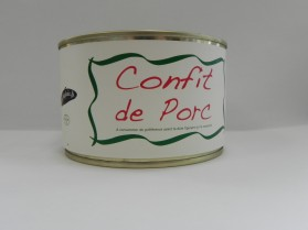 HOBERENA CONFIT DE PORC 380G