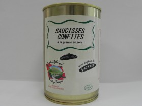 Saucisses confites Hoberena 350g