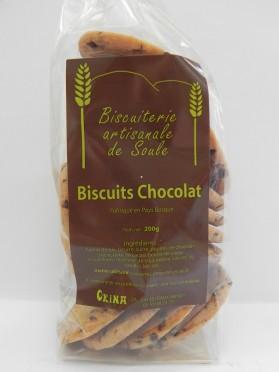 Biscuits chocolat Okina sachet de 200g
