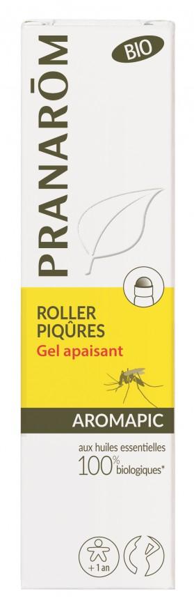 Gel apaisant piqûres de moustiques Aromapic roller 15 mL