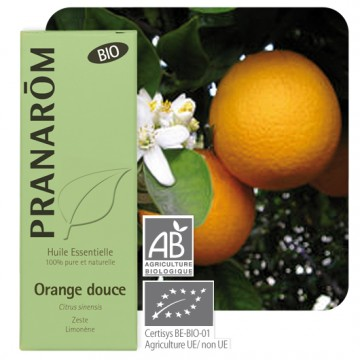 huile essentielle orange douce pranarom 10 ml xibero bio. Black Bedroom Furniture Sets. Home Design Ideas