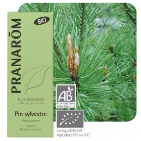 Huile essentielle Pin sylvestre Pranarom 10 mL