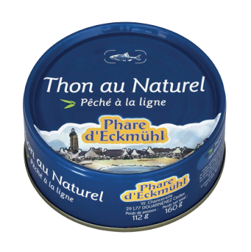PHARE D'ECKMUHL THON AU NATUREL 160G