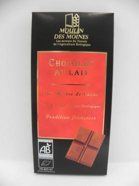 Chocolat au lait Moulin des Moines 100g