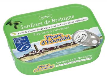 PHARE D'ECKMUHL SARDINES HUILE OLIVE GM