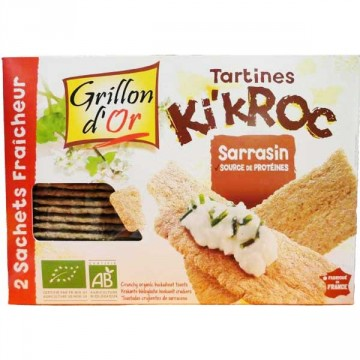 Tartines Kikroc sarrasin Grillon d'or 270g