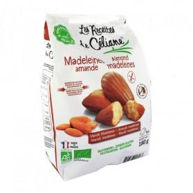 Les recettes de Céliane Madeleines aux amandes