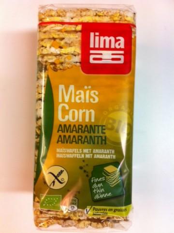 Lima Galettes au maïs