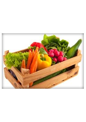 Panier de légumes de saison