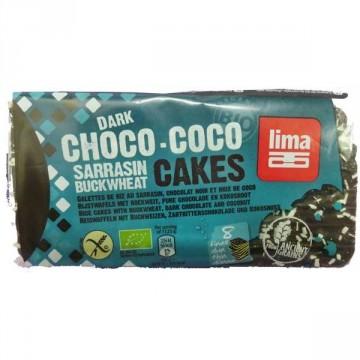 Lima Galettes sarrasin chocolats noir coco