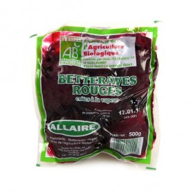 Betteraves rouges cuites 500g