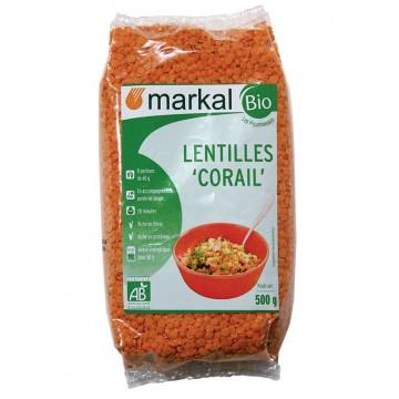 Lentilles corail 500g