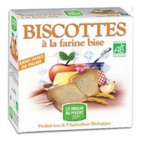 Biscottes bises Moulin du Pivert 270g