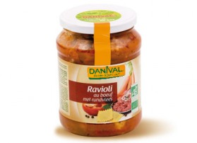 Ravioli au boeuf Danival 360g