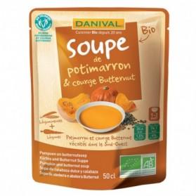 Soupe potimarron butternut Danival