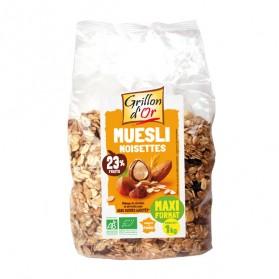 Grillon d'or muesli noisette 1kg