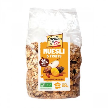 Grillon d'or muesli fruit 1kg