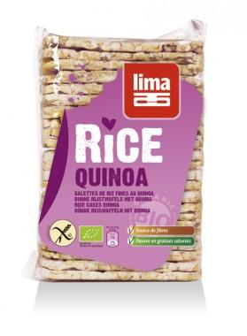 Lima Galettes de riz et quinoa fines