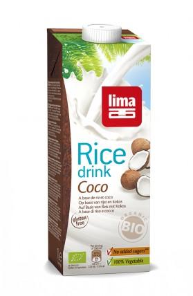 Rice drink Coco lait de riz coco Lima 1L